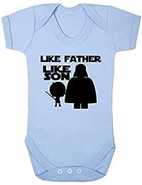 Grenouillère fantaisie pour bébé avec inscription « Like Father Like Son  Star Wars » (3 2ee3abe16f6