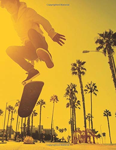 STREET SKATER JOURNAL: Composition  journal / notebook to write in and record your thoughts. -