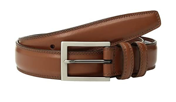 Torino Leather Co. Men's 32 mm Aniline Leather Tan 36
