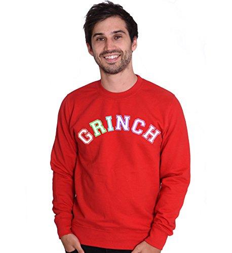 Grincheux qui voulait de Noël pour femme Rouge Unisexe Vert XS S M L XL XXL Rouge - Rouge
