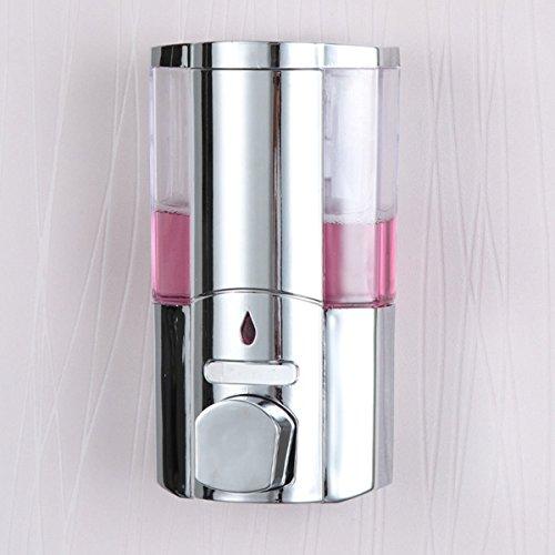 Generic dyhp-a10-code-4802-class-1-Spender Dusche Chrom Anche Seife Shampoo Dispe 300ml Boost Single ounted Pumpe klar LE PU Wand montiert Boost S--nv _ 1001004802-hp10-uk _ 1679