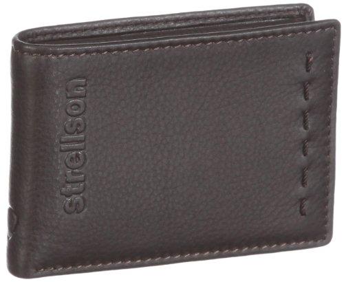 Strellson Oxford Circus BillFold H2 4010000226 Herren Geldbörsen 10x7x1 cm (B x H x T), Braun (dark brown 702)