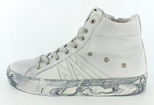 7198 MACA Kitzbühel Leder Sneaker white White