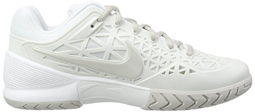 Nike Donna Zoom Cage 2 scarpe da ginnastica Bianco (Weiß (Summit White/Light Bone))
