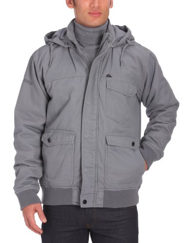 Quiksilver - Giubbotto uomo Maratuna, grigio (grigio), S