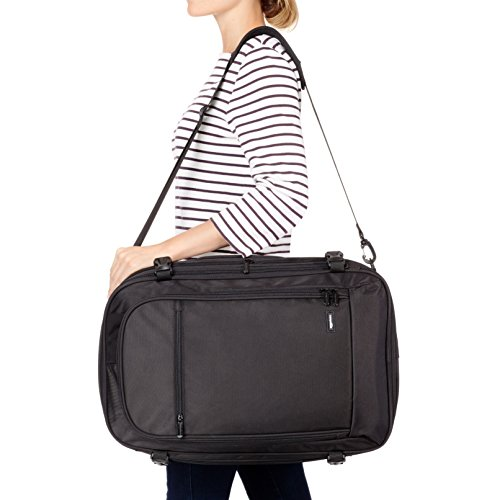 AmazonBasics 46 Ltrs Carry-On Travel Backpack, Black Image 8
