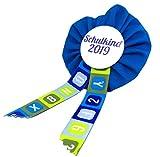 AnneSvea Orden Schulkind 2019 blau Einschulung Schultüte Zuckertüte Deko Geschenk Mitbringsel