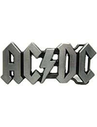 Hebilla de cinturón AC DC Belt Buckle ACDC Logo Rock Band Punk Music Style