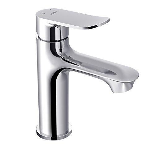 CLOFY Waschtischarmatur, Waschtischmischer, Wasserhahn Waschbecken Einhebel - Waschtischarmatur,Badwasserhahn, Waschtisch-Einhebelmischer, bad wasserhahn,Chrom