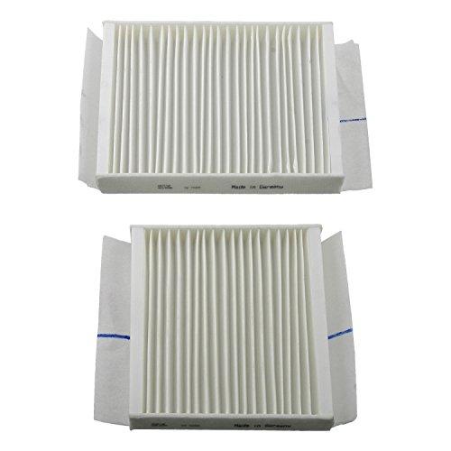 Preisvergleich Produktbild febi bilstein 27950 Innenraumfiltersatz / Pollenfiltersatz (Innenraumfilter / Pollenfilter),  1 Stück