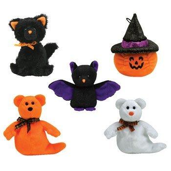 Ty Halloweenie Beanie Babys-Halloween 2007komplett-Set von 5von Ty Beanie Babies