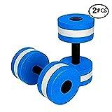 Bigboss Sports aquatiques d'exercice Haltères Aqua Fitness Paire d'exercice à la main bars–Lot de 2–pour l'eau aérobic