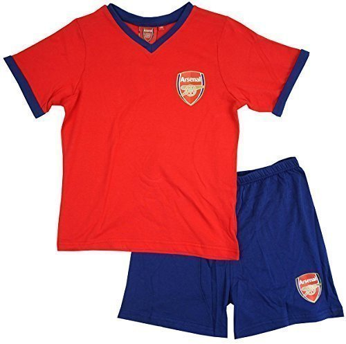 117529f57 Boys Official Arsenal AFC Football V-Neck T-Shirt Shorty Pyjamas Sizes from  3 to 12 Years