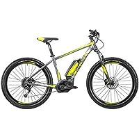 ATALA Bicicleta Eléctrica b-Cross 27,5 9 V Talla 41 Amarillo/Gris