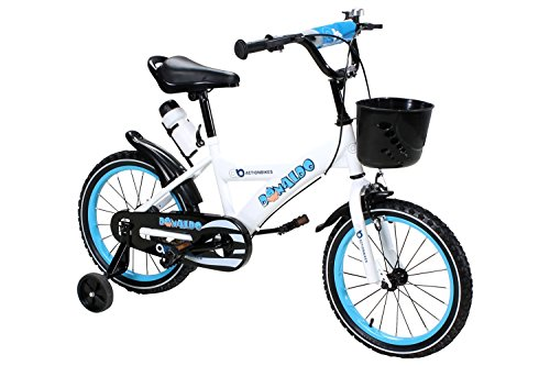 Actionbikes Motors Kinderfahrrad Donaldo ab 3-9 Jahren 12 16 20 Zoll Blau Kinder Mädchen Jungen Fahrrad ... (16` Zoll)