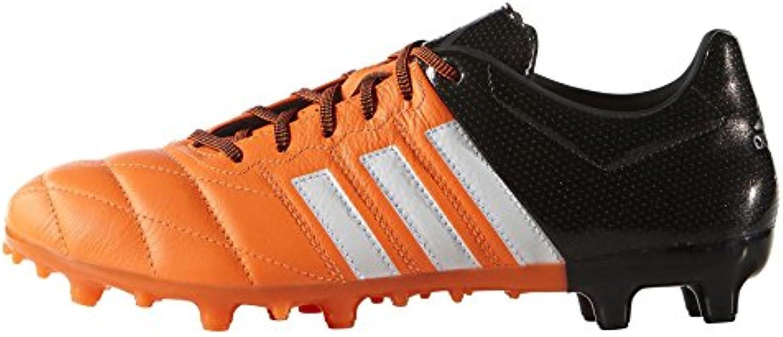 adidas Herren Ace Low FG/AG Lea Fußballschuhe  Orange  40 5 EU