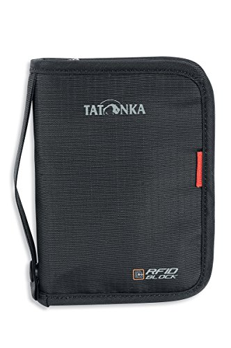 Tatonka Geldaufbewahrung Travel Zip RFID B Black, 17 x 12 x 3 cm