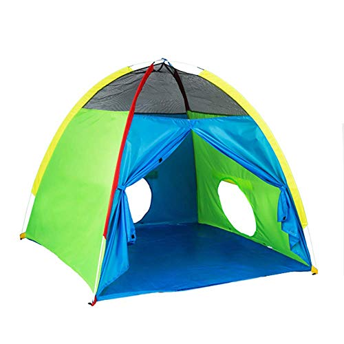 ADATEN Im Freien Kuppel Spielen Zelt Ball Pool Burg Pop Up Tragbar Falten Tourismus Bergsteigen Camping Wigwam Mit Reißverschluss Speicher Tasche Kind Spielzeug - X4-zelt