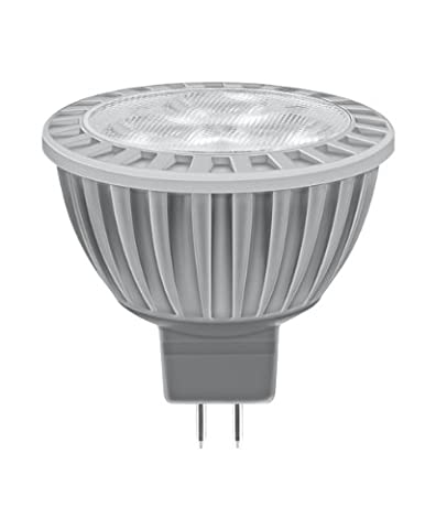 Osram LED Star MR16 3W entspricht 20 W, Sockel Gu5,3, 12 Volt, Reflektorlampenform, 50 mm, 24°, 450 cd, extra warmton (827) 991829