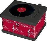 Zur Hochzeit: Vintage-Plattenspieler mit 10 Hochzeitsmelodien