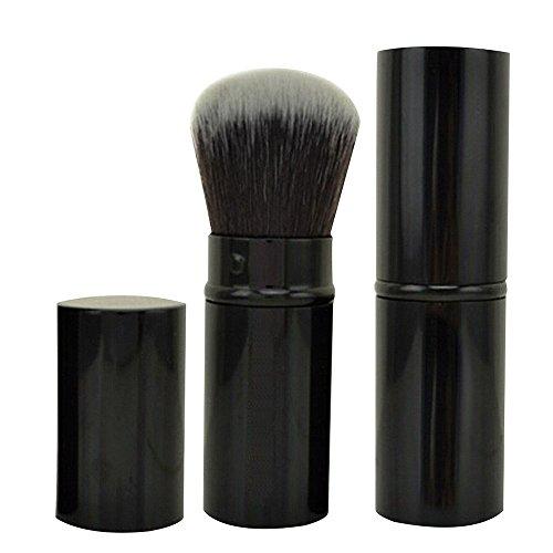 Contever® Pennelli trucco Tools - Make Up Fard Brush - Retrattile Bellezza Cosmetica Strumenti (Nero)