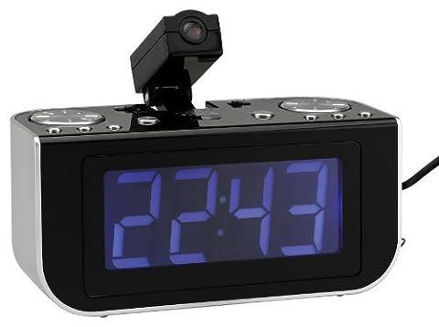Reflexion CLR-2624P Uhrenradio (UKW/ MW Radio, Digitaler Frequenzanzeige LC-Display)