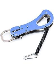 bioings (TM) elegante acero Portable Fish Lip Grabber Captura agarre herramienta de agarre de pesca accesorios de pesca yc143-sz