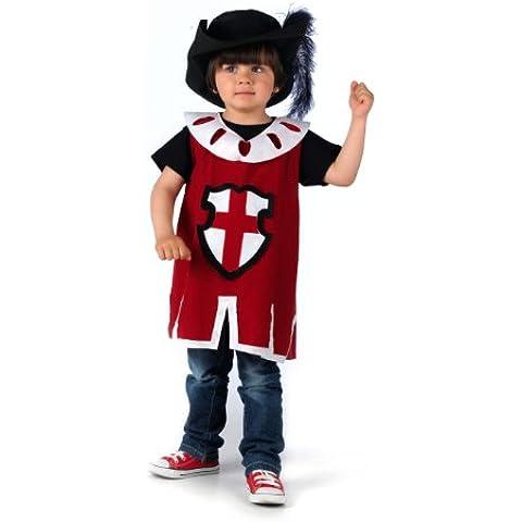 Mascarada NC173 M - costume moschettiere, taglia M, rosso /