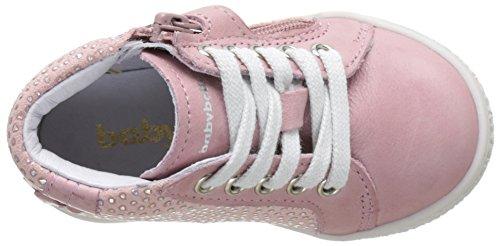 Babybotte Aubladi, Baskets Hautes Fille Rose (Rosethe)