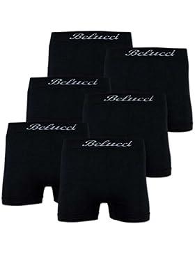 6er Pack Herren Boxershorts BELUCCI Microfaser M L XL XXL