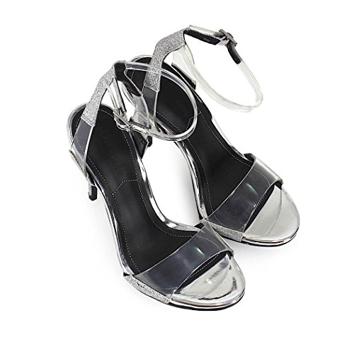 Kendall and Kylie Kenya Femme Chaussures Metallic silver
