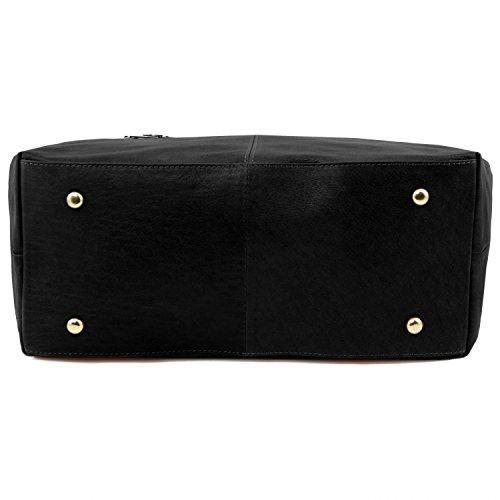 Tuscany Leather TL KeyLuck - Borsa donna in pelle - TL141207 (Nero) Nero