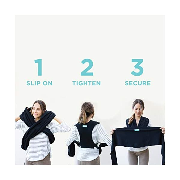 MOBY Fit Baby Wrap Carrier for Newborn to Toddler up to 30lbs, Baby Sling from Birth, One Size Fits All, Breathable Stretchy Made from 100% Cotton, Unisex Moby Perfect for newborns - hug them close to your heart Front and outward carrying positions Grows with baby, from new-born to toddler 2