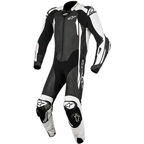 Lederkombi Alpinestars GP Tech V2 1PC Einteiler Black/White, Black/White, 52