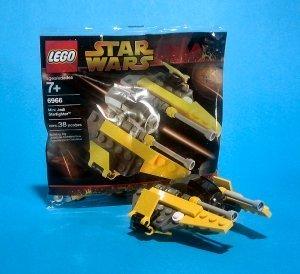 Jedi Starfighter Setzen 6966 (Beutel) (Lego General Grievous Starfighter)