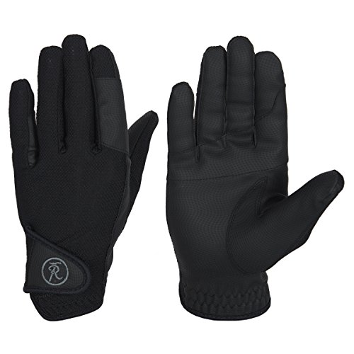 Riders Trend Flexsoft Synthetic -, color negro, talla UK: Large/46 cm