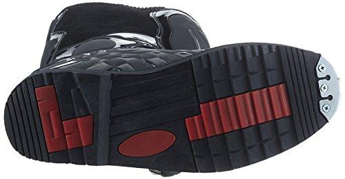 Protectwear Crossstiefel, Endurostiefel Racing aus Leder mit Kunsstoffschnallen, Schwarz, 41 - 3
