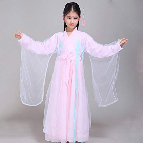 Kostüm Pink Samurai - GUAN Halloween Kinderkostüm Fairy Dance Dress Dance Hanfu Fotografie Foto Dance Wear
