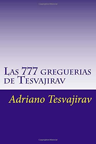 Las 777 greguerias de Tesvajirav