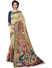 Ruchika Fashion Art Silk Saree with Blouse Piece (KOTA_SILK-VP1_Multi_One Size)