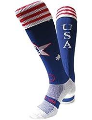 WackySox Chaussettes de sport USA Amérique