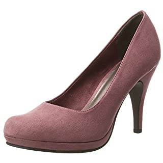 Tamaris Damen 22407 Pumps, Pink (Mauve), 38 EU