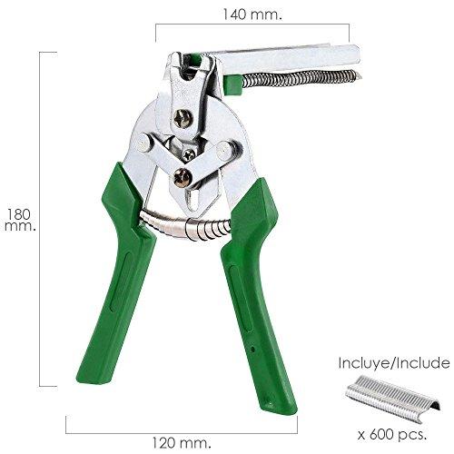 Grapadora Para Mallas/Enrejados/Cercas Con Cargador