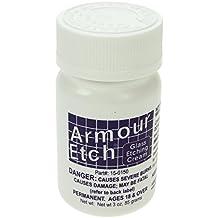 Armour Etch 90ml grabado de vidrio Crema (85 g)