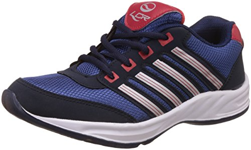 Lancer Men's  Navyblue-Red Running Shoes - 9 UK/India (43 EU) (HYDRA-3-NAVY-BLUE-RED)  available at amazon for Rs.449