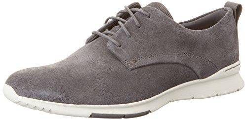 Clarks Tynamo Walk, Zapatillas para Hombre, Gris (Dark Grey SDE), 43 EU
