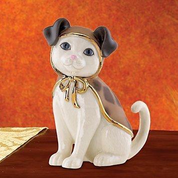 Lenox Puppy CAT New in Box Kitty