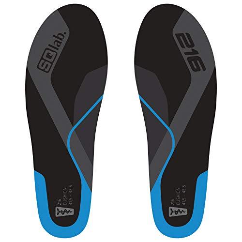 SQlab 216 CUSHION, Blau, L, Einlegesohlen für Füße in Supination