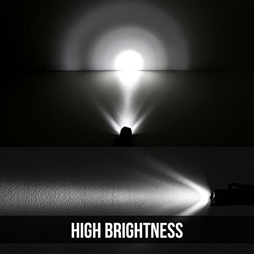 LE 2er Set Superhelle LED Taschenlampe Abbildung 2
