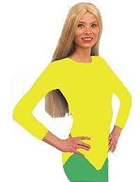 Body, gelb, 4/4 Arm, Größe 36-40, Elastisch